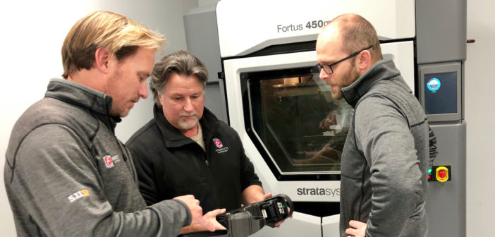 Andretti Autosport is using Stratasys 3D printers to produce parts