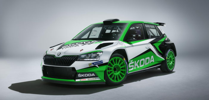 Škoda aims to stay competitive with updated Fabia R5 rally car