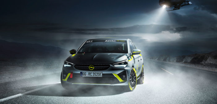 Opel unveils all-electric rally car