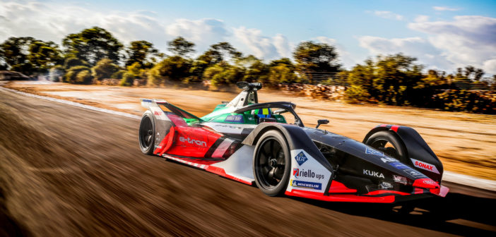 Audi Sport debuts e-tron FE06 race car