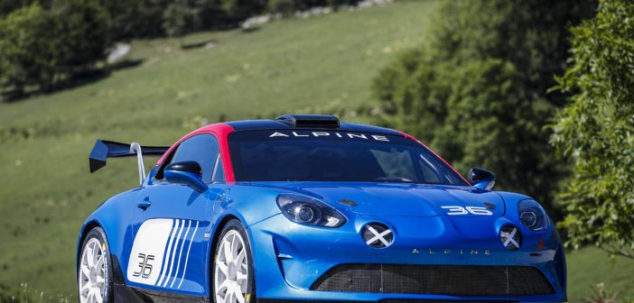 Signatech and Alpine reveal A110 Rally