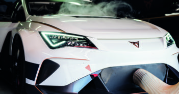 Cupra e-Racer makes track debut in Barcelona