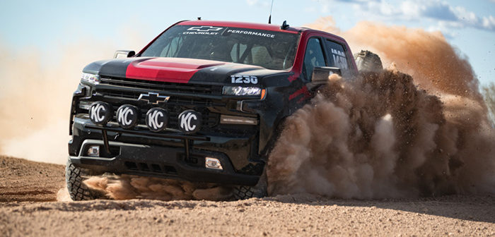 Chevrolet Silverado makes off-road race series debut