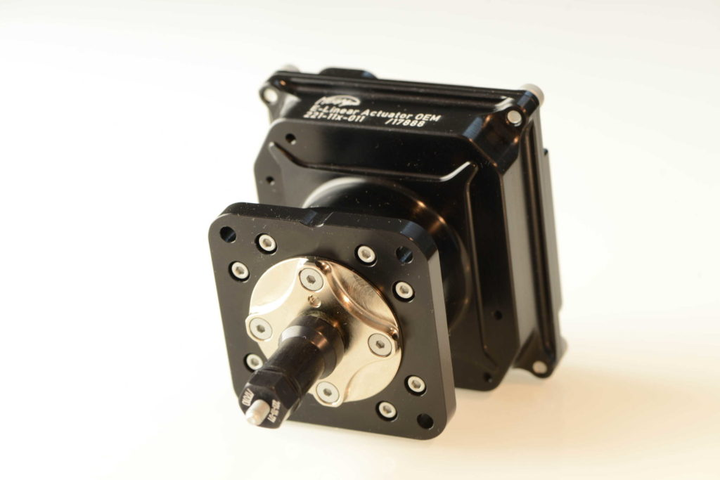 MEGA-Line electric actuator for wastegate