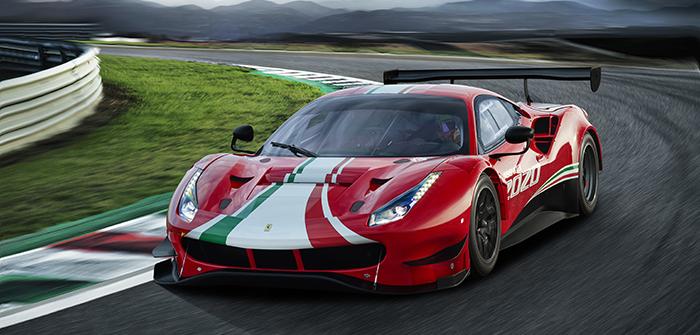 Ferrari präsentiert 488 GT3 Evo für 2020