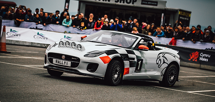 Jaguar F-Type rally car makes final appearance