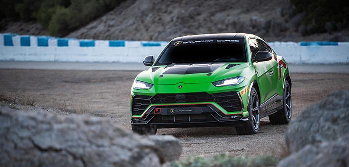 Urus ST-X von Lamborghini Squadra Corse debütiert auf Rennstrecke