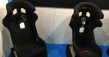 PMW Expo live: Low-cost racing seat