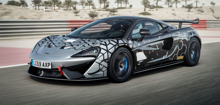 McLaren unveils 620R road-legal track car