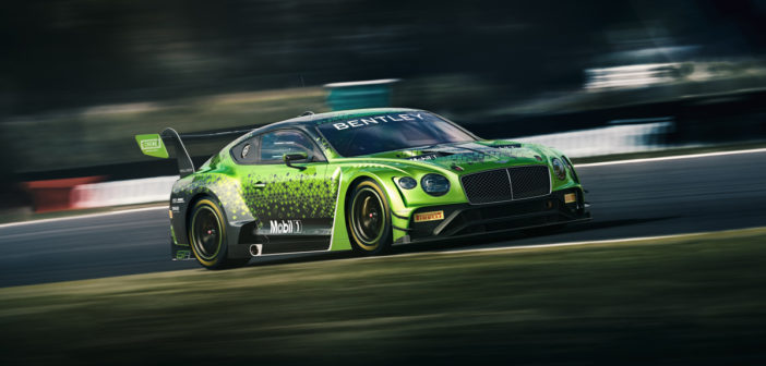 Bentley announces 2020 motorsport program