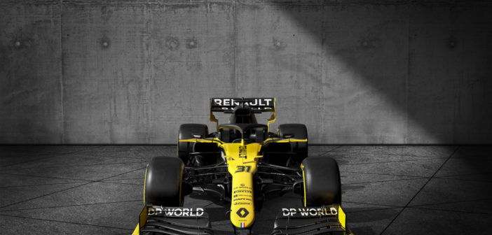 DP World named Renault F1 logistics partner