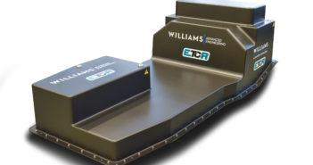 Williams produces ETCR battery