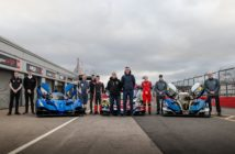 VR Motorsport tests three-car line-up ahead of 2020 Britcar Endurance