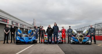 VR Motorsport tests three-car line-up ahead of 2020 Britcar Endurance