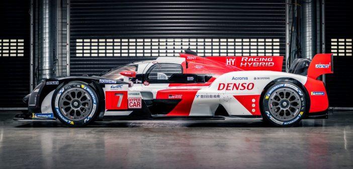Toyota's GR010 Le Mans Hypercar makes its debut