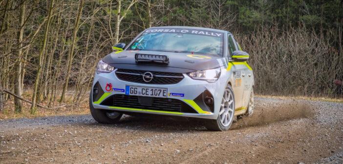 Corsa-e Rally gets artificial sounds