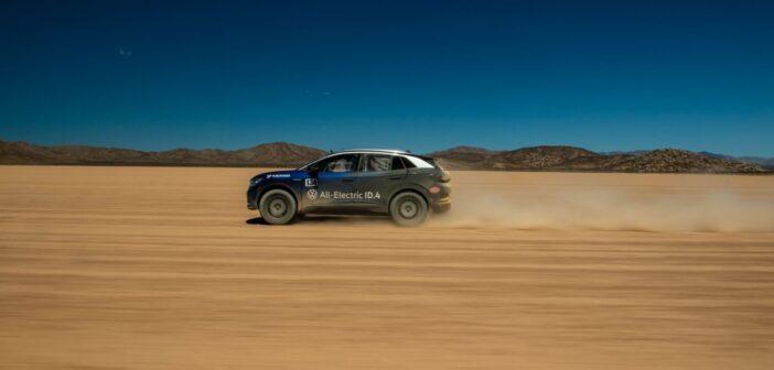 VW ID.4 completes grueling NORRA 1000 desert race