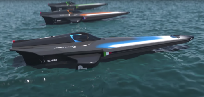 E1 Series RaceBird electric powerboat design released