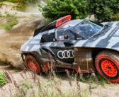 Audi unveils RS Q e-tron Dakar racer