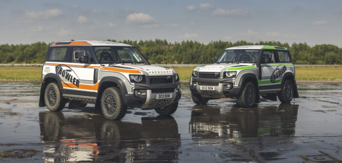 Bowler unleashes latest Defender Challenge rally car