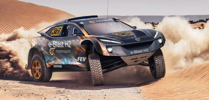 GCK progressing with H2 cross-country racer