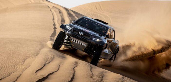 Toyota to field updated Hilux on 2022 Dakar