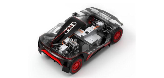 Audi details the challenges of going hybrid on Dakar