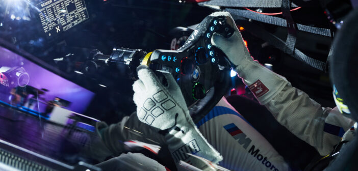 BMW Motorsport documents its dual-use virtual steering wheel